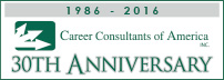 25th Anniversary Career Consultants of America 1986-2011